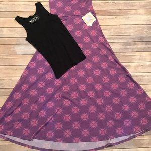 LuLaroe Maxi Skirt XXS
